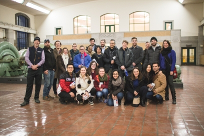 Exclusive tour for Blue Drinks Toronto at the RC Harris Water Treatment Plant (March 2018), photograph by Aly Ambler