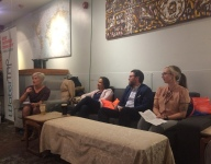 Blue Drinks Talks Jobs, panel talk with professionals from different water sectors (October 2018)